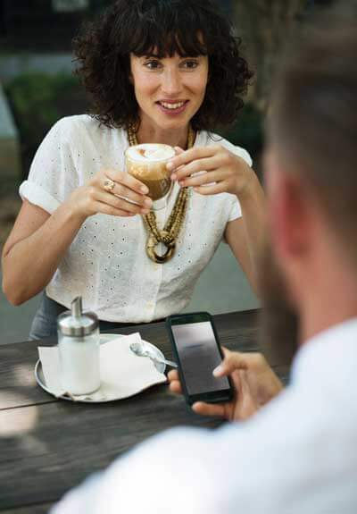 Spaß an Fragen im Online-Dating